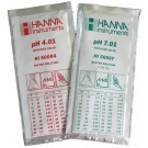 Buffer Solution 4.01 & 7.01 for pH meters. 20ml sachets