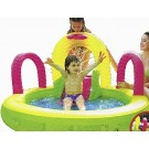 Spray slide pool