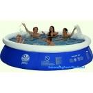Inflatable pool 3.6m diameter. Dimensions