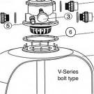 Gasket for filter neck V-Series. bolt type