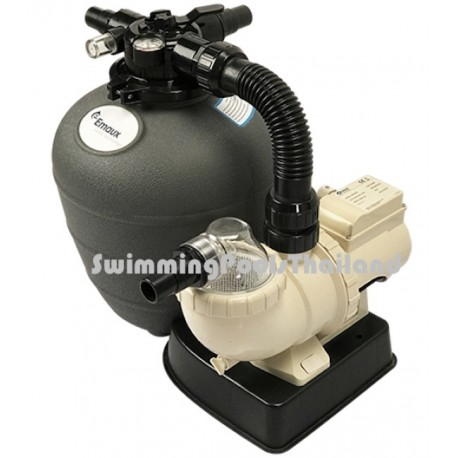 Pre assembled pool pump filter combinations for Obi filtersand pool