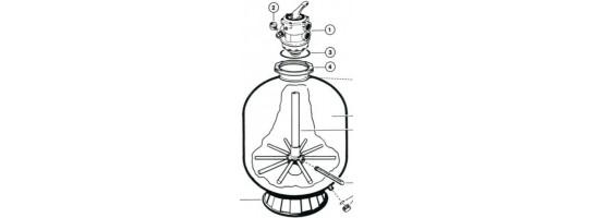 Multi port valves - Hayward