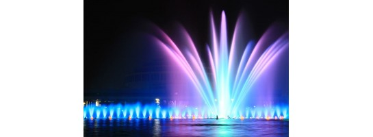 Fountain & water feature lighting