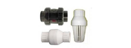 Check valves (non-return valves), วาล์วตรวจสอบ