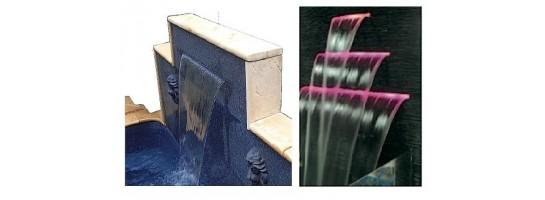 Waterfall units