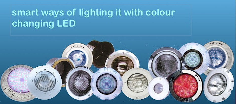 Thailand's largest range of pool lighting