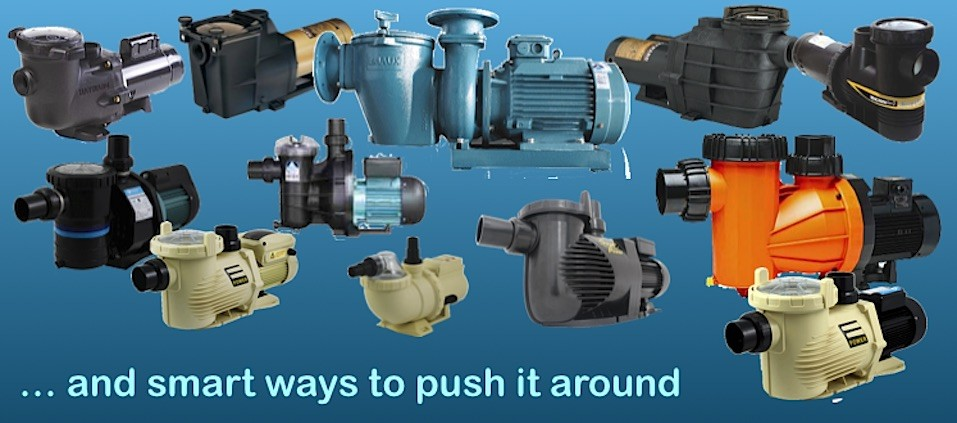 Pumps for all pools, spas, and water features