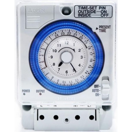 Timer for swimming pool pump